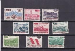 Peru Nº A87 Al A95 - Peru