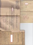 Livret Militaire + Cie De Garde Des P.G. à Pouxeux , Vosges + Bulletin De Position Militaire ,1945 - Documents