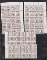 Trinidad & Tobago Wholesale Lot Of National Insurance Stamps 70 Stamps $1354.50 Face - Trinidad & Tobago (1962-...)