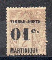 MARTINIQUE - YT N° 26 -  Neuf Sg - Cote: 13,00 € - Martinique (1886-1947)