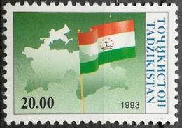 1993 TAJIKISTAN MNH Independence Issue - Tajikistan