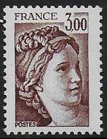 Sabine N° 1979b ** - Sans Phospore Gomme Brillante . Signé Calves - Cote : 30 € - 1977-81 Sabine Of Gandon