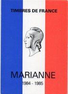 POSTE & FACTEURS 8 : Timbres De France Marianne 1984 - 1985 - Postal Services