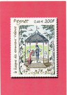 POSTE & FACTEURS 9 : Le Kiosque Des Amoureux Valence Peynet ( Poste 2000 ) 0,46 € 3,00F - Poste & Facteurs