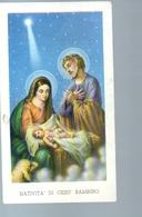 189- Santino Edizione G.mi EGIM Natività - Devotion Images
