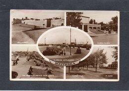Southsea Station Balnéaire Située Dans La Pointe Sud De L'île De Portsea Comté Du Hampshire.CP Multivues 1953 - Portsmouth