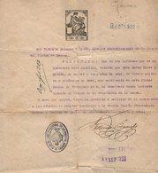 VP14.955 - ESPANA - Ciudad De GERONA 1923 - Certificato - Alte Papiere