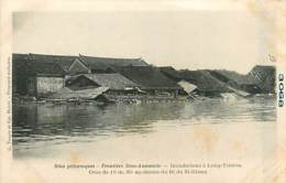 TONKIN  LONG-TCHEOU  Frontiere Chinoise - Crues           INDO,283 - Vietnam