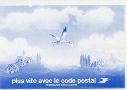 POSTE & FACTEURS 10 : Carte Changement D Adresse : Cigogne : Plus Vite Avec Le Code Postal - Postal Services