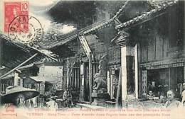 TONKIN   Yunnan  MONG-TZEU  Porte Entree Pagode          INDO,325 - Vietnam
