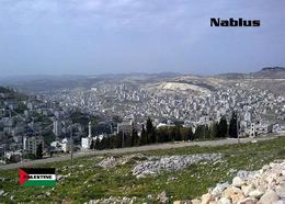 Palestine Nablus Overview New Postcard Palästina AK - Palästina
