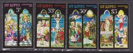 St. Kitts - 1981 Christmas Navidad Natale Noel Set MNH - St.Kitts E Nevis ( 1983-...)