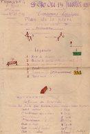 VP14.956 - MILITARIA - Moselle - Document De La 3 ème Légion De La Garde Républicaine Mobile - Concours Hippique Plan... - Documents