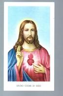 208bis - Santino Edizione G.mi EGIM Sacro Cuore Di Gesù - Devotion Images
