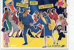 POSTE & FACTEURS 13 : Bouger Avec La Poste ( Avril 86 ) - Postal Services