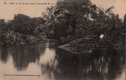 Sherbrooke Québec - St. Francis River - Rivière Saint-François - Written 1905-1910 (?) - A.Z. Pinsonneault - 2 Scans - Sherbrooke