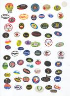 Etiquettes De Fruits Divers Lot 8 - Miscellaneous Fruit Labels Lot # 8 - Fruits Et Légumes