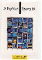 POSTE & FACTEURS 14 : La Poste Campagne De Vœux 89 - Postal Services
