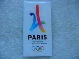 Pin's PARIS, Ville Candidate Aux Jeux Olympiques De 2024 - Jeux Olympiques