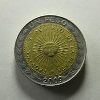 Argentina 1 Peso 2009 - Argentina