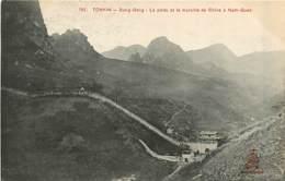 TONKIN  DONG-DANG  Porte Et Muraille De Chine     INDO,747 - Viêt-Nam