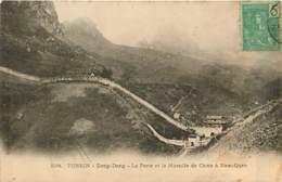 TONKIN  DONG-DANG  Porte Et Muraille De Chine A Nam-quan    INDO,748 - Viêt-Nam