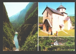 Kolašin - Canyon Of The Morača - Morača Monastery - Multiview - Montenegro