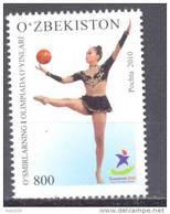 2010. Uzbekistan, Youth Olympic Games Singapore 2010, 1v, Mint/** - Uzbekistan