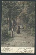 +++ CPA - LINKEBEEK - Escalier Près De L'Eglise - Couleur Nels Série 11 N° 360   // - Linkebeek