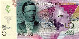 ANTARCTICA 5 Pound 2017   Nicolai HANSON UNC - Fictifs & Spécimens