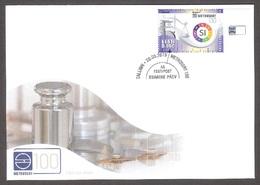 100th Anniversary Of Metrosertt Estonia 2019 Stamp+ Label  FDC Mi 957 - Estonia
