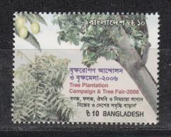 BANGLADESH, 2006, Tree Plantation Campaign,  MNH, (**) - Bangladesch