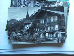 Zwitserland Schweiz Suisse BE Meringen Dorfpartie Alt - BE Berne