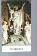 300 Bis  - Santino Edizione G.mi EGIM Risurrezione - Devotion Images