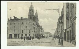 54 - Meurthe Et Moselle - Nancy - Hotel St.Georges - Animée - Intéressant Verso - 2 Scanns - - Nancy