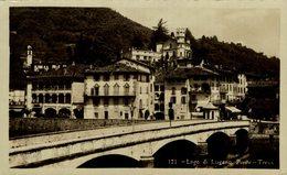 LAGO DI LUGANO PONTE TRESA  Suiza Switzerland Suisse Schweiz - TI Tessin