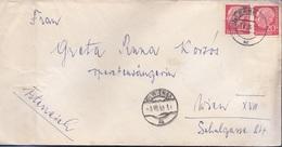 DEUTSCHE BUNDESPOST 1955, MEF Auf Brief, Bamberg > Wien - [7] Federal Republic
