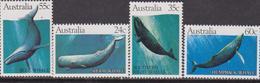 Australia Whale Set MNH - 1980-89 Elizabeth II