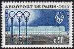 France N° 1283 ** Aéroport De Paris - Orly - France