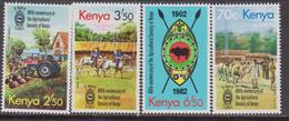Kenia Agricoltura/Agriculture Set MNH - Agricoltura