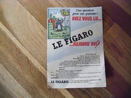 Journal Le Figaro Publicité à Colorier ,pardon En Bretagne ,2 Scans , 14 X 20 CM  Port Gratuit - Other