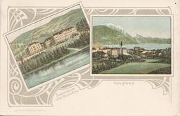GMUNDEN (OÖ) - Litho Um 1900, Schöne Karte, Gute Erhaltung - Gmunden