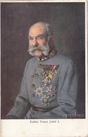 KAISER FRANZ JOSEF I., Künstlerkarte V. C.PIETZNER, Verlag B.K.W.I. - Königshäuser