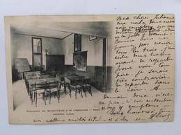 CPA, Pensionnat Des Sacrés-Coeurs Et De L'Adoration, Paris, 1ère Classe, écrite En 1903, Timbres - Schools