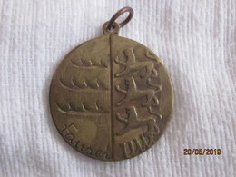 Germany: Medal Fansel With Wurttemberg Arms And The BRD Eagle - Deutschland