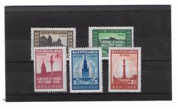 EDY 231 - YUGOSLAVIA , Cinque Valori  Nuovi  ***  MNH - 1945-1992 Repubblica Socialista Federale Di Jugoslavia