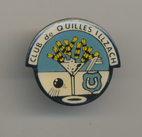CLUB DE QUILLES ILLZACH - Pin's