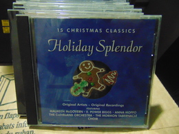 Artistes Variés- Holiday Splendor - Country & Folk