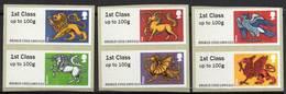 GREAT BRITAIN 2015 Post & Go: Heraldic Beasts - Post & Go Stamps
