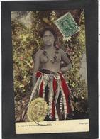 CPA Samoa Nu Féminin Femme Nue Ethnic Timbré Non Circulé - Samoa